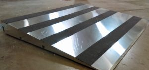 Exterior Door Ramp- Smooth Aluminum