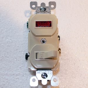kason 3-Way Light Switch wPilot Light